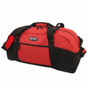Luggage America S-1030-RD Sports Plus 30 Polyester Sports Duffel