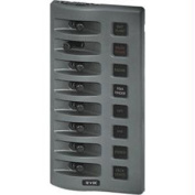 Blue Sea 4308 WeatherDeck Water Resistant Fuse Panel - 8 Position - Gray