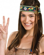 Peace Sign Hippie Headband
