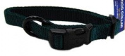 Hamilton Pet Company - Adjustable Dog Collar- Hunter Green .63 X 12-18 - FAS 12-18 DG