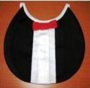 Davida 400TUX Tuxedo Round Baby Bib