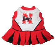 Pets First NECLO-M Nebraska Corn Huskers Cheer Leading MD