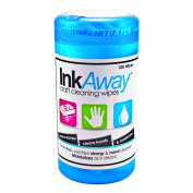 Read Right InkAway Craft Cleaning Wipes, 100 Wipes per Container