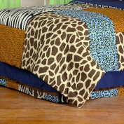 One Grace Place 10-14b015 Jazzie Jungle Boy Twin Bed Skirt