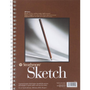 Strathmore Spiral Sketch Book 23cm x 30cm -100 Sheets