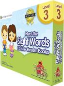 Preschool Prep Company PPC207 Meet The Sight Words Level 3 Easy Reader Books Boxed Set Of 12