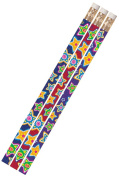 Musgrave Pencil Co Inc MUS2486D Mad About Stars 1Dz Pencils
