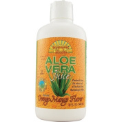 Dynamic Health 0612572 Organic Aloe Vera Juice Orange Mango - 32 fl oz