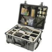Pelican 1560NF Case w/o Foam - Black