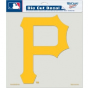Caseys Distributing 3208579931 Pittsburgh Pirates Die-Cut Decal- 20cm . x 20cm . Colour