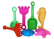Sunshine Trading BT-22 Tool Sand Toy - 7 Piece Set