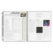C-Line Products- Inc. CLI62237 Panoramic Foldout Sheet Protector- 43cm .x8-.130cm .- Clear