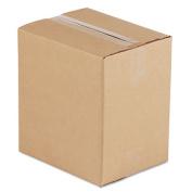 Corrugated Kraft Fixed-Depth Shipping Carton,8-3/4 x 11-1/4 x 12h,BR,25/Bundle