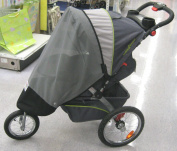 Sasha's Kiddie Products Baby Trend Single Front Swivel Wheel Expeditions, & Ride Jogger Sun, Wind and Insect