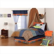 One Grace Place 10-14b020 Jazzie Jungle Boy Full Bed Skirt