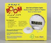 Sonic Bomb SA-SBT425SS Alarm clock with phone Sig & Vib