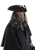 Super Deluxe Blackbeard Adult Halloween Hat Accessory