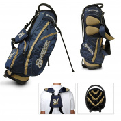Team Golf 96528 MLB Milwaukee Brewers - Fairway Stand Bag