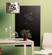 Wallies Wallcoverings 16020 BIG Peel & Stick Chalkboard Slate Grey