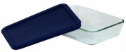 World Kitchen 3 Cup Storage Plus Rectangular Dish WIth Plastic Cover 6017471 - Pack of 6