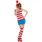 Elope Waldo Sexy Dress Adult Costume Small - Medium