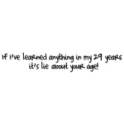 Art Impressions G3575 Art Impressions Girlfriends Cling Rubber Stamp-Lie About Your Age