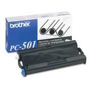 for Brother PC-501 Thermal Transfer Print Cartridge Black
