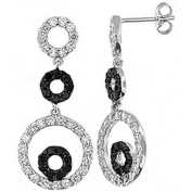 Doma Jewellery DJS01927 Sterling Silver (Rhodium Plated) Earring with CZ