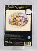 """Dimensions Gold Collection Petite """"Warm and Fuzzy"""" Counted Cross Stitch Kit, 18cm x 13cm"""