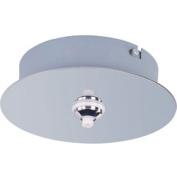 ET2 - Maxim Lighting EC95001-PC RapidJack 1-Light Canopy - Polished Chrome
