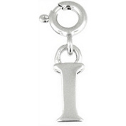 Doma Jewellery DJS01653 Sterling Silver Initial Charm - I