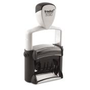 Trodat T5030 Trodat Professional Stamp- Dater- Self-Inking- 1 5/8w x 3/8d- Black