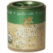 Simply Organic 25484 Mini Organic Garlic Salt Blend