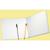 ASHLEY PRODUCTIONS ASH10703 WHITE HARDCOVER BLANK BOOK
