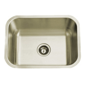 Kingston Brass KU23189BN Chicago Stainless Steel Undermount Single Bowl Kitchen Sink