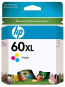 PRINTER SUPPLIES CC644WN HP 60XL Inkjet Cartridge Color
