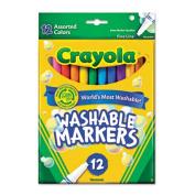 . 587813 Washable Markers Fine Point Classic Colours 12-Set