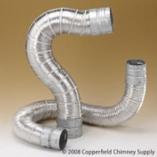 Chimney 69194 6 in. x 60 ft. Dura-Connect Gas Connector Pipe