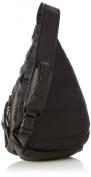 David King& Co 318B Backpack Style Cross Body Bag- Black