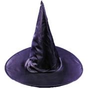 Adult Taffeta Witch Hat Adult Halloween Accessory