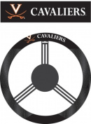 Fremont Die 58569 Virginia Cavaliers- Poly-Suede Steering Wheel Cover
