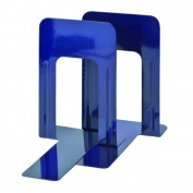 STEELMASTER Soho Collection 241009108 23cm . Bookends Deluxe Blue