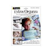 ExtravOrganza Ink Jet Fabric Sheets 22cm x 28cm 5/Pkg-Silk