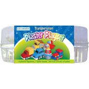 Colorbok 438788 You Paint It Plaster Kit Value Pack-Transportation