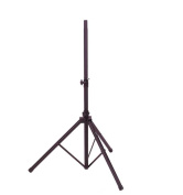 Audio2000s AST4392B Speaker Stand with Metal Leg House