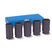 Grey Pneumatic GRE1705SN .12.7cm Dr 5 Pc Spindle Nut Set