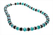 Alexander Kalifano WHITE-NGG-18 White Tag Gorgeous Glass Necklaces - Multi-Colored