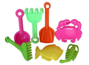 Sunshine Trading BT-23 Tool Sand Toy - 7 Piece Set