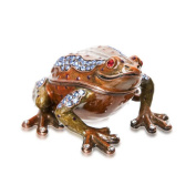 Alexander Kalifano Vanity Happy Toad Crystal Box