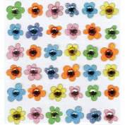 Jolee's Boutique Dimensional Stickers-Baby Gem Flowers